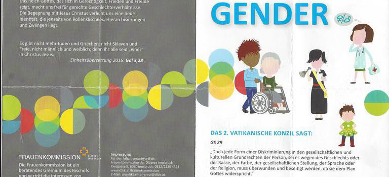 Frauenkommission der Diözese Innsbruck arbeitet mit biblischer Verdrehung