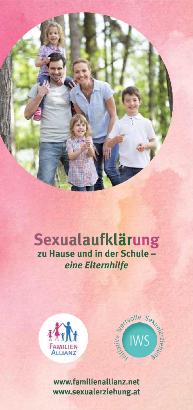 """Elternbroschüre """"Sexualaufklärung zu Hause und in der Schule"""""""